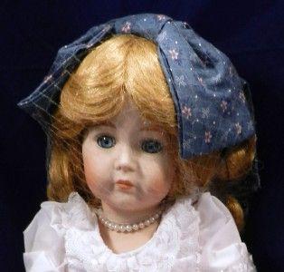 1989 Carol Anne Dolls Bette Ball Goebel Sings Yesterday Porcelain Doll