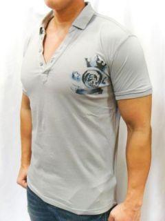 NWT Diesel Brand Mens Workwear Logo Print T Capra  RS Polo T Shirt