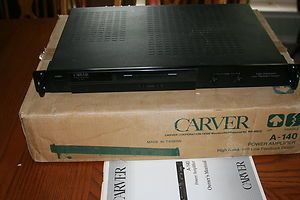 Carver A 140 Two Channel Power Amplifier