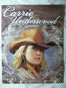 CARRIE UNDERWOOD *AUTHENTIC AUTOGRAPH 2006 Mi. Fowlerville Fair Signed