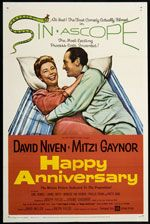 Happy Anniversary 1959 Original U s One Sheet Movie Poster