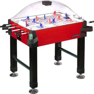 Arcade Stick Hockey Carrom Dome Bubble Table Game New