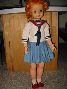 American Character Carrot Top Doll Freckles TLC