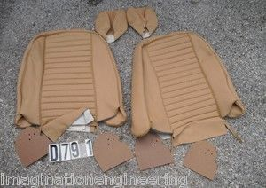 Triumph TR6 1973 1976 Seat Back and Headrest Covers