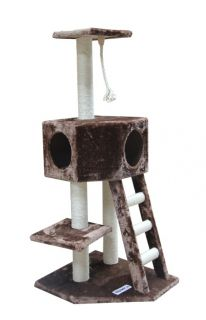 Vegas Cat Tree Furniture Condo Scratching Post by Kitty Mansions