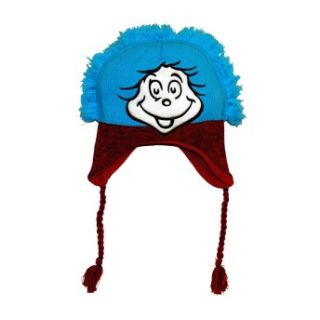 Dr Seuss Cat In The Hat Thing One And Two Pilot Laplander Hat