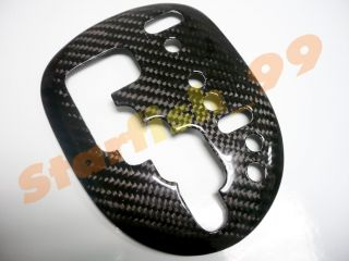 Real Carbon Fiber Shift Gear Panel Cover for RHD Toyota Yaris VIOS