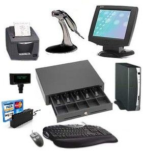 CASH DRAWER for POS point of sale Works W/ Quickbooks Epson Citizen