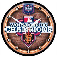 San Francisco Giants 2012 World Series Champions Clock 12 75 Round