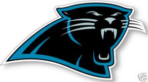 Carolina Panthers NFL Logo Wall Window Sticker Decal
