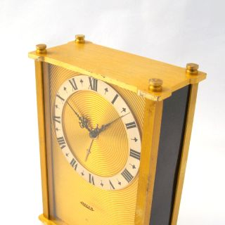 Jaeger LeCoultre 8 Days Musical Desk Clock 1950S