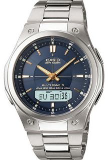 Casio Wave Ceptor Solar Atomic Watch WVAM490D 2A