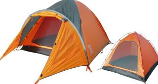 4PERSON Double Tent High Quality Aluminum Alloy Outdoor