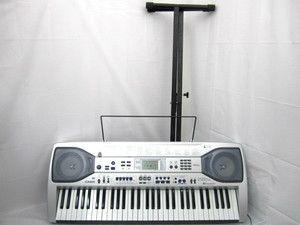 Casio LK 90 TV 61 Key 264 Timbres MIDI USB Electric Keyboard w Stand