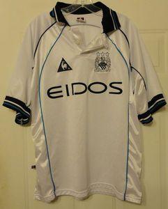 Manchester City XL Extra Large Soccer Jersey Shirt 2007 2008 Third