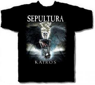 SEPULTURA cd cvr KAIROS Official SHIRT XL New soulfly cavalera