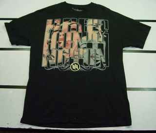 Carey Hart and Huntington Tattoo T Shirt Sz Mens L Black