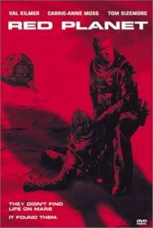 Red Planet Val Kilmer Action Filled Sci Fi 2000 DVD New
