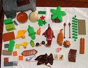 Lego Duplo Dino Valley 5598 Dinosaurs Set Cavemen T Rex