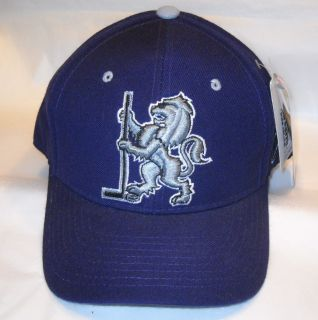 New Vintage NHL La Kings Lion Logo Wool Blend Hat Cap Zephyr Fitted