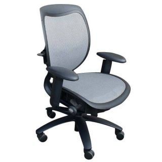 Vintage Desk Office Task Arm Chair Features Seat Height Adjustment 360