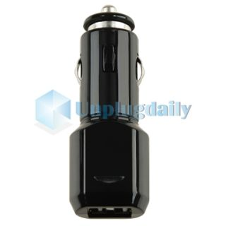 Dual Micro USB Port Car Charger for Samsung Galaxy S2