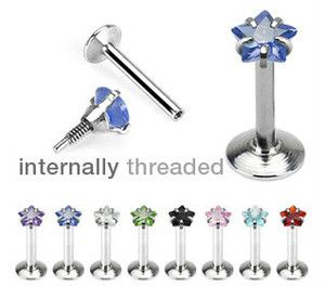 CZ Wishing Star Tragus Helix Cartilage Piercing Earring Stud