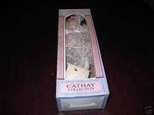 NIB Cathay Collection Porcelain Doll Beautifully Dressd