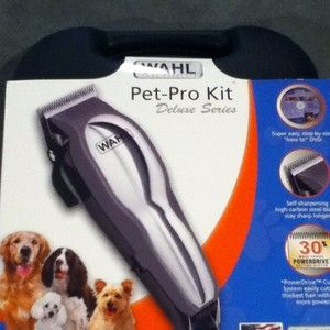 Wahl Pet Dog Cat Grooming Clipper Kit Professional