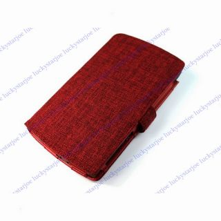 Cotton Folio Case Cover Pouch for Arnova 7 G2 Tablet PC E17