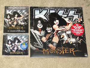 KISS MONSTER COMBO BEST BUY &  CD VERSIONS + SEALED VINYL LP