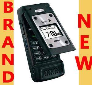 Sanyo Pro 700 RUGGED Military Specs CDMA Sprint PCS PTT Cell Phone GPS