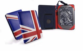 Tuff Luv Embrace case cover for Kindle 6 E Ink Kobo Touch Glo + RECHG