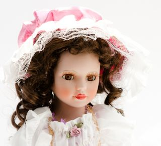 Cathay Collection Porcelain Doll Brown Eyed 1 of 5000