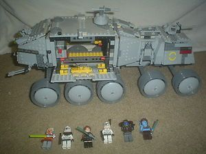 Lego Star Wars Clone Turbo Tank 8098 with Mini Figs