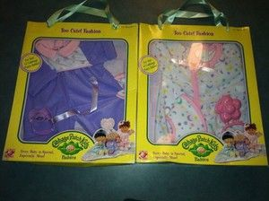 Lot Of 2 Cabbage Patch Kids, Too Cute Fashion, Doll Clothes, New, Fits