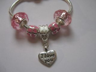 Childrens Kids Girls Charm Pet Bracelet Choose Any Design Dog Cat