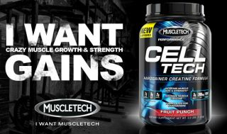 MuscleTech Cell Tech Performance Series U Pick Your Size Flavor
