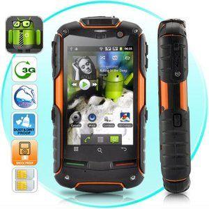 FortisX Unlocked Cell Phone Rugged Waterproof Dustproof Shockproof 3G