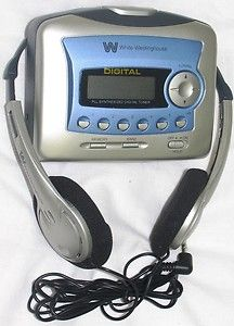 Westinghouse Portable Stereo Cassette Player with Digital Am FM