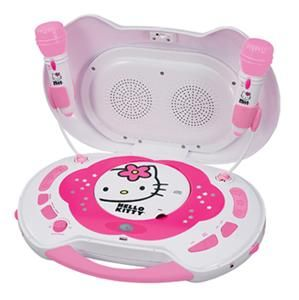 New Kids Hello Kitty CD Karaoke System Machine Player