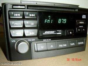 2000 2001 Nissan Maxima Bose Radio CD Player PN 2281D