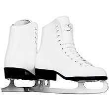 New CCM Champion Deluxe Ice Figure Skates Girls Size 3