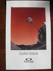 Cedric Gracia Mountain Bike Bicycle Ride Race Frame Jump Oakley Ride