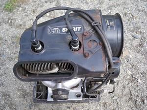 Arctic Cat Suzuki 440cc Fan Cooled Engine Complete Only 1425 Miles