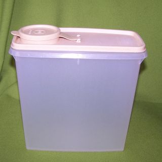 Classic 13 CUP Tan Wheat Colored Flip Top Cereal Storage Container