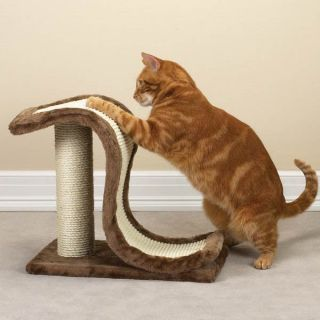 Meow Town Scratch N Slide Cat Scratching Post Furniture