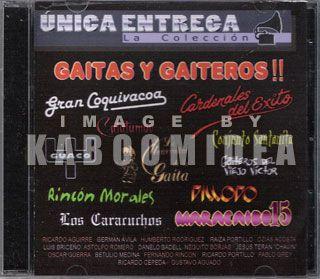 Gaitas Y Gaiteros CD Exitos Gran Coquivacoa Maracaibo 15 Venezuela