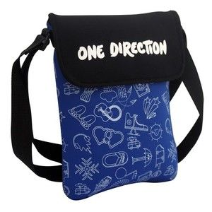 New Design One Direction 1D Tablet Ipad Kindle Case Carrier with Strap
