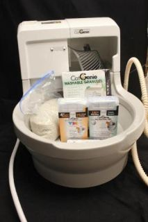 891329001256 120Self Washing flushing housebreaking Cat litter Box